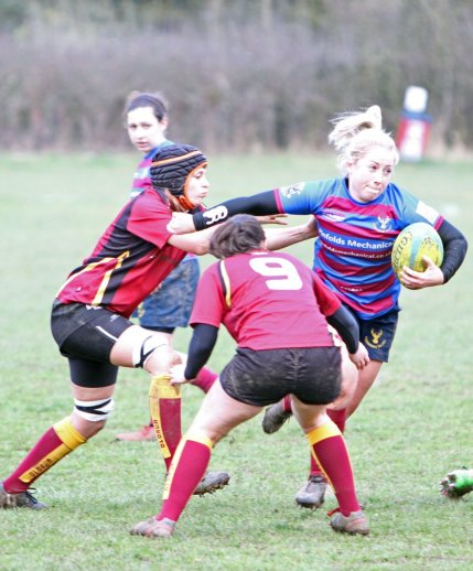 Chesham Womens Rugby sponsored by Pinfolds